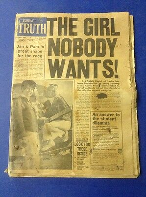 Sunday Truth Brisbane October 5, 1969 Newspaper. Carl Ditterich, Nudgee College