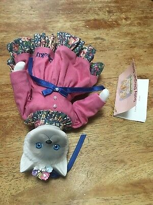 """CAT Goebel Dolly Dingle Family Reunion """"Quirky Quickly"""" Cat Doll by Bette Ball"""