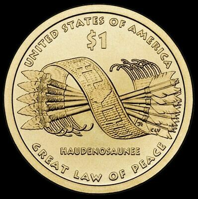"2010 D Sacagawea Native American Dollar US Mint Coin ""Brilliant Uncirculated"""