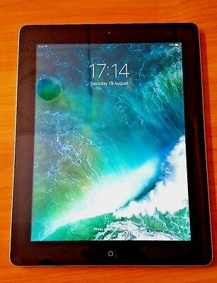 Apple iPad 4th Gen Retina Display 16GB, Wi-Fi, - Black Good condition WARRANTY