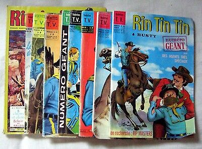 Lot De 9 Bd Differentes Rintintin