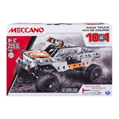 Meccano 10 Model Truck Set Brand New