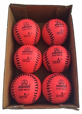 Aresson – Super Match Rounders bolas (Pack de 6), color rosa