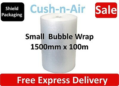 Strong Cush -n- Air Branded Small Bubble Wrap Size: 1500mm x 100m