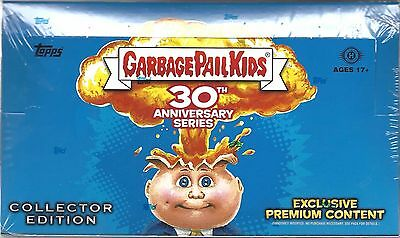 Garbage Pail Kids 30Th Anniversary Collectors Edition Hobby Box Topps 2015