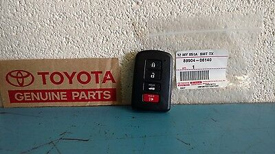 Genuine Toyota Corolla OEM Smart Key Fob 2013-16