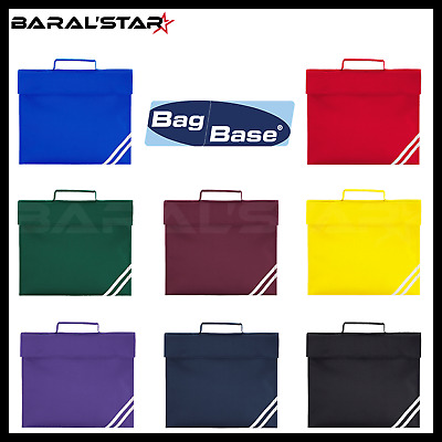 Quadra Classic Book Bag - 7 Great Colours - School Bag Briefcase