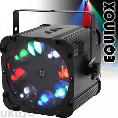 Equinox Crossfire XP High Power 8x10w LED Gobo Dancefloor Filler Lighting Effect