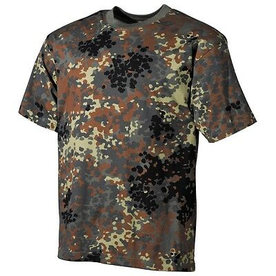 US Army T-Shirt Tarn flecktarn BW Bundeswehr Shirt Outdoor Armee