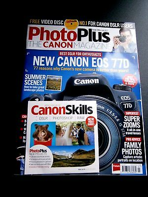PhotoPlus The Canon Magazine Issue 128 July 2017 (new) With Disc