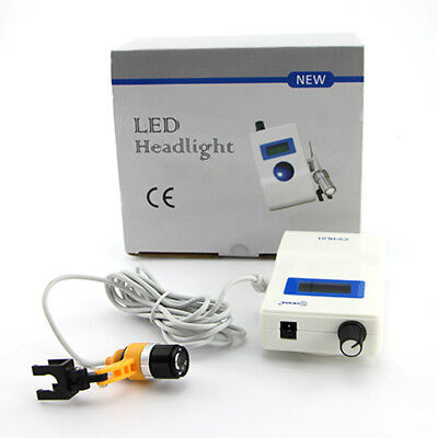 Dentist LED Headlight For Dental Loupes Magnifier Light Binocular Camping Lamp