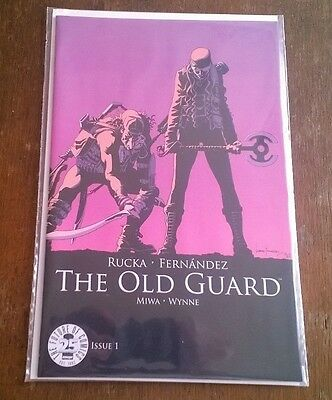 The Old Guard Color Variant Image Blind Box 25TH Anniversary