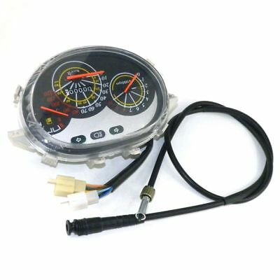 Instrument Gauge w/ Speedometer Cable Set Chinese Scooter Moped ty1