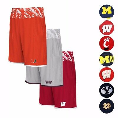 NCAA Assortment of Men's Performance Basketball Shorts Shock Energy by Adidas