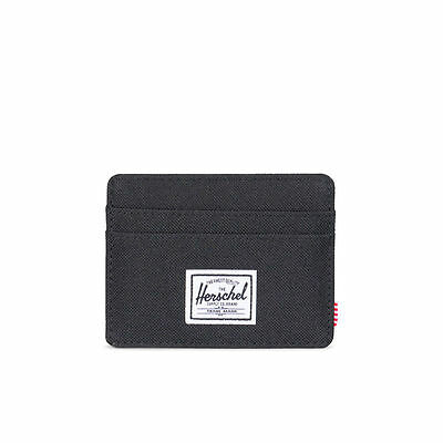 Herschel Supply Co. Charlie Wallet in Black NWT Free Shipping