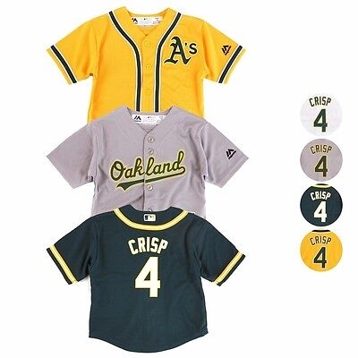 Oakland Athletics MLB Majestic Cool Base Home Player Jersey Infant SZ (12M-24M)