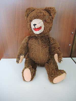 antique Rare old vintage teddy bear with sound