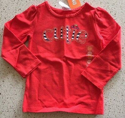 Gymboree Girls Long Sleeve Shirt Size 18-24 Months NWT