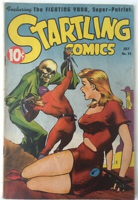 Startling Comics #46 Better Publications(Nedor) July 1947