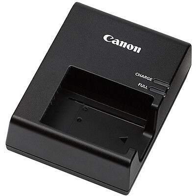 Genuine Canon Battery Charger for Canon EOS Rebel T6 DSLR Camera, Fold out plug