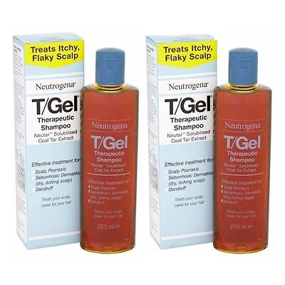2 Packs - Neutrogena TGel Therapeutic Shampoo 250 ml