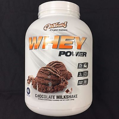 ISS Research Oh yeah Whey Power 5lb Protein New NSF 65+ Servings Gluten Free