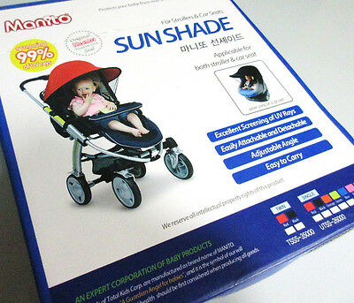 Manito Sun Shade for Strollers and Car Seats Purple