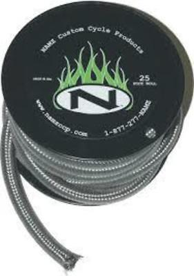 """NAMZ 3/8"""" Stainless Braided Hose25-Foot Roll 25-Foot Roll"""