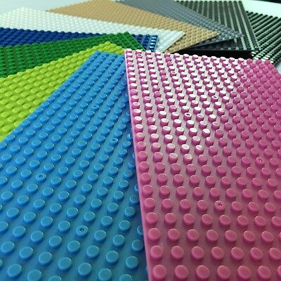 compatible Lego Baseplates 1pcs Base Plate Building blocks 16x32 (message color)