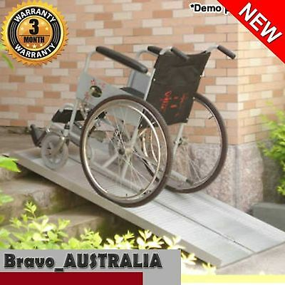 5ft Folding Wheelchair Ramp Portable Scooter Aluminium Loading Mower