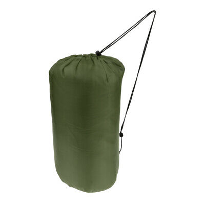Portable Envelope Outdoor Travel Sleeping Bag Hiking Camping Army Green