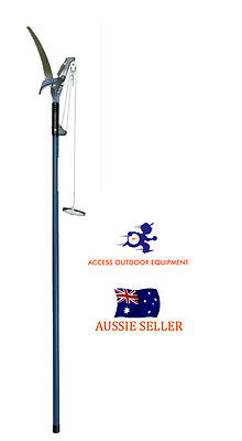 Telescopic Tree pruners & Saw Extendable 2.4 Metres Carbon blade ($7.50 savings)