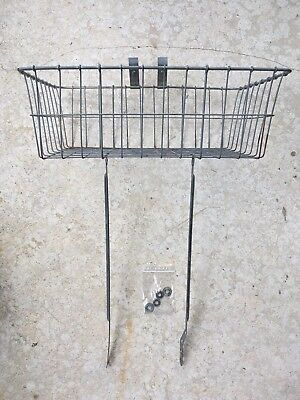 Vintage Wald Wire Basket For Bicycle (Schwinn)