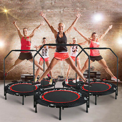 Fitness Trampoline For Adults Kids Toddlers Exercise Indoor Fitness Equipment