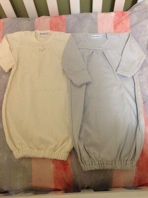 2 Under the Nile sleeping gowns 0-6 month