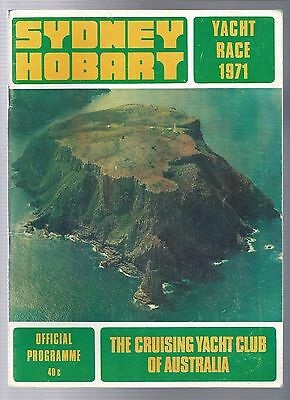 1971 Sydney Hobart Yacht Race Program +The impossible to get Caltex Info booklet