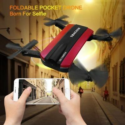 WIFI FPV RC Quadcopter Drone with HD Camera Live Video Altitude Foldable