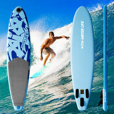 10ft surf board Inflatable Stand Up Paddle Board SUP Paddle Boarding Swimming