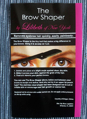 The Brow Shaper from Lilibeth of New York