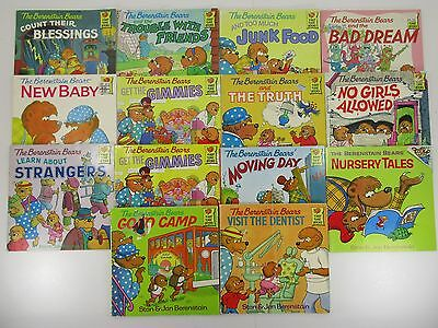 # 97 lot 14 Berenstain Bears First Time Books softcover Teacher K-2
