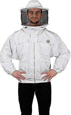 Humble Bee 310-XS Polycotton Beekeeping Jacket With Round Veil (X Small)