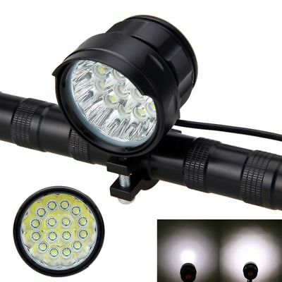 40000LM 16x XM-L T6 LED Front Bicycle Headlight Head Light Bike Headlamp 3 Modes