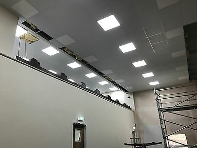 suspended ceiling, tile and grid fitted FROM £11m2