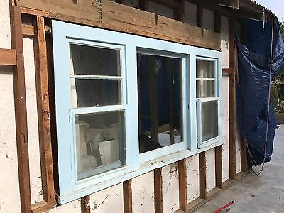Picture Window with Double Hung Flankers
