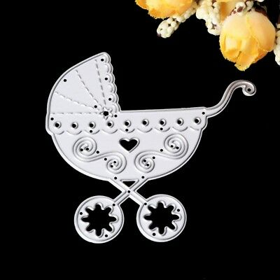 Baby Carriage Cutting Dies Stencil For DIY Scrapbooking Album Paper Card Craft