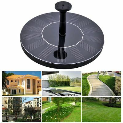Solar Power Garden Water Pump Fountain Pond Floating Panel Pool Pond Watering