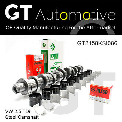 VW STEEL CAMSHAFT KIT for 2.5 TDi BNZ BPC BPD BPE 070109101Q
