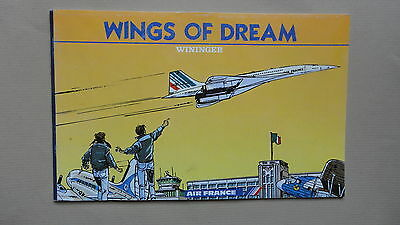 Bd Air France Wininger Wings Of Dream En Anglais