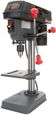 Buffalo Tools Mini Drill Press 4 in. Variable 5-Speed Laser Centering Device