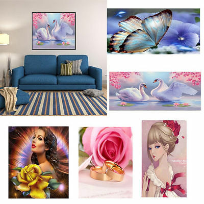 Full Drill 5D DIY Diamond Painting Cross Stitch Home Decor Craft Different